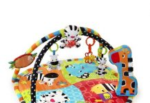 Tapis Safari Spots and Stripes de Bright Starts