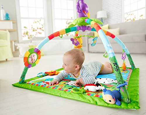 Tapis de la Jungle bébé rampant