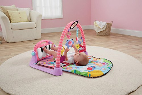 Tapis Piano Rose fille