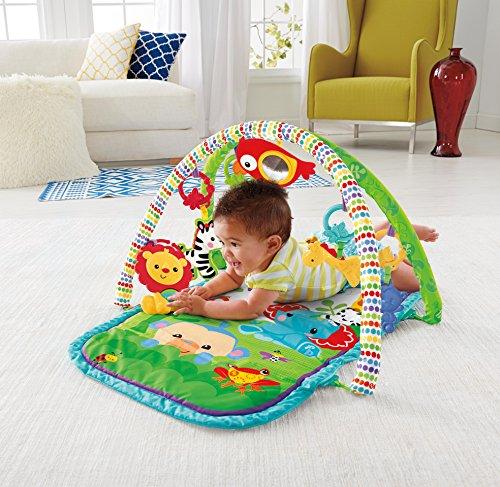 Tapis d'éveil Amis de la Jungle pour bébé